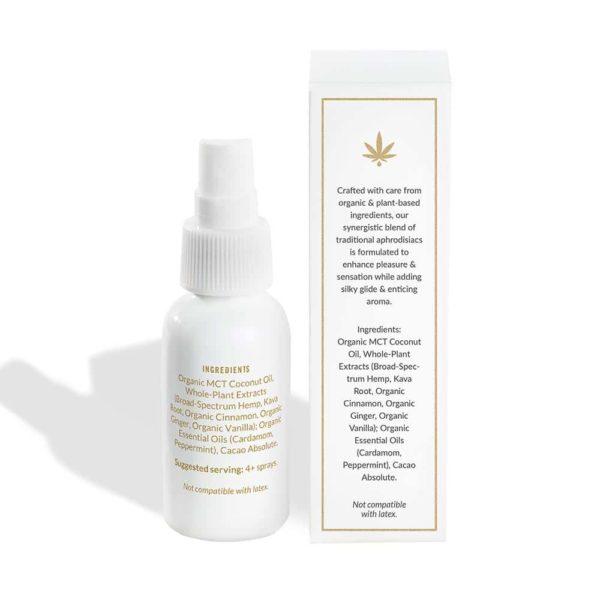 FORIA Awaken natural arousal oil with CBD and Kava
