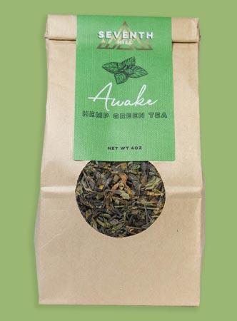 Seventh Hill Hemp Green Tea