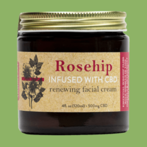The Apothecary Rosehip CBD Renewing Facial Cream