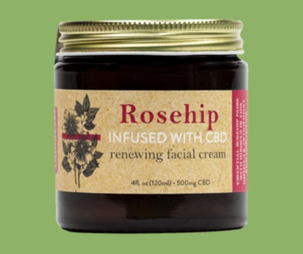 The Apothecary Rosehip CBD Renewing Facial Cream