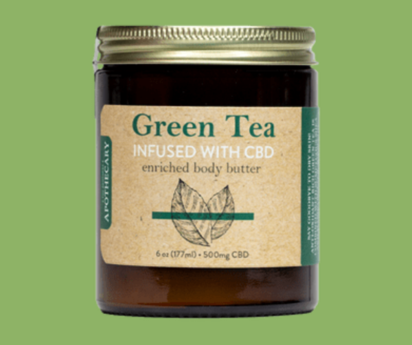 The Apothecary Green Tea CBD Enriched Body Butter