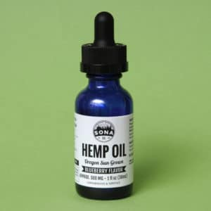Hemp CBD Oil 500 Blueberrry