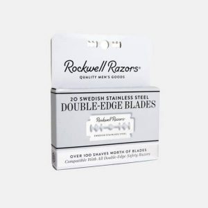 Rockwell Double-Edge Razor Blades - 20-Pack