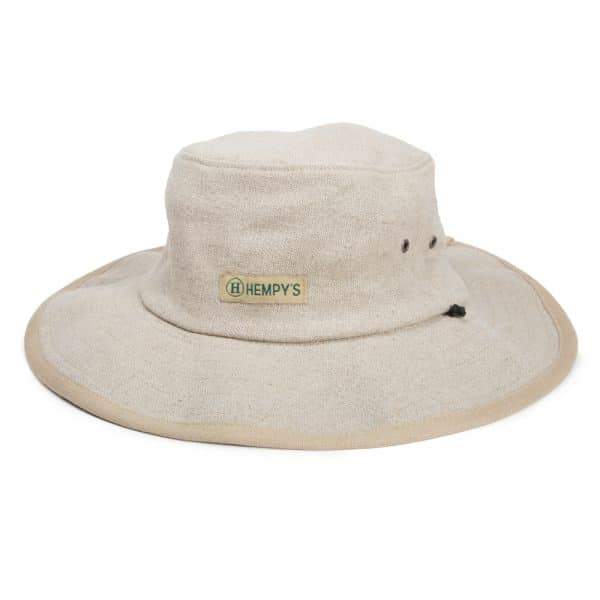 Hemp Baja Explorer Sun Hat Natural