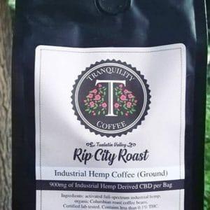 Tranquility CBD Coffee 12oz 900mg CBD (ground)