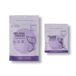 Lazarus Naturals CBD Dog Treat Sweet Potato